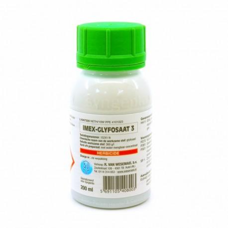 Glyfosaat-Imex 3 onkruiddoder 200 ml