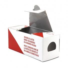 Kartonnen muizen lokdoosje